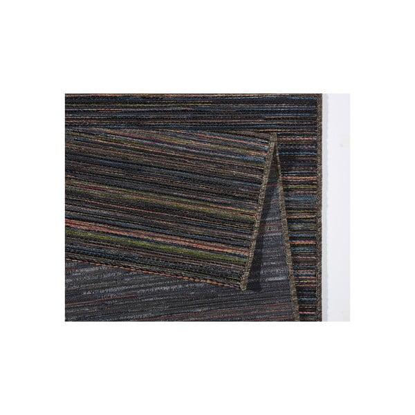 Tmavě hnědý koberec vhodný i na ven Lotus, 160x230cm