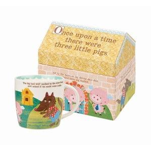 Hrnek v dárkovém boxu Churchill China Pigs, 284 ml