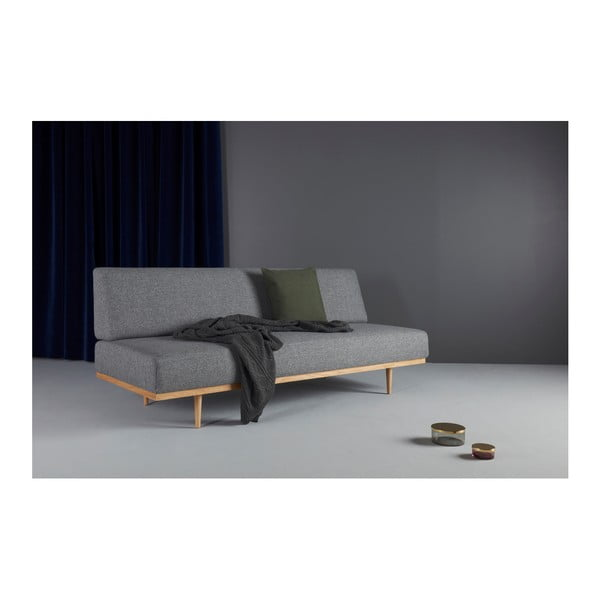 Szara sofa rozkładana Innovation Vanadis Twist Charcoal
