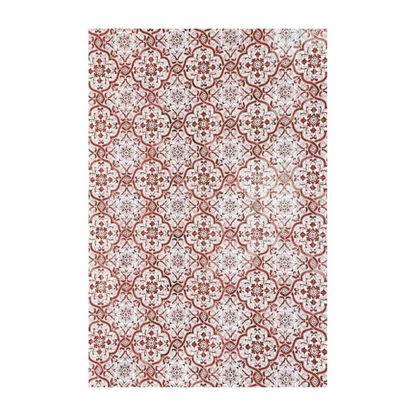 Vinylový koberec Lisboa Rojo, 200x300 cm