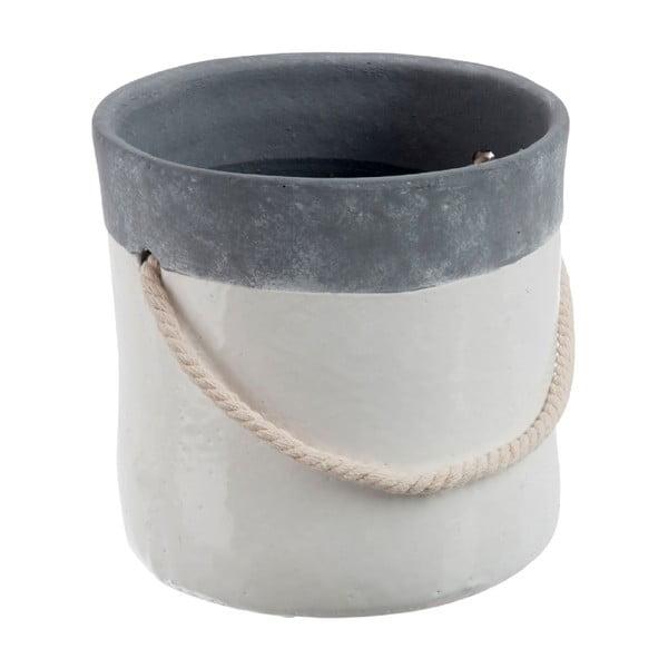 Květináč Grey Rope L