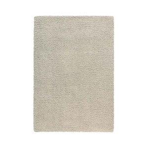 Koberec Super Shaggy 120x170 cm s 5 cm dlouhým vlasem, světle šedý