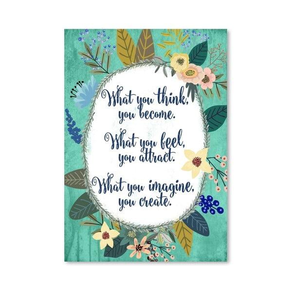 Plakát od Mia Charro - What You Think