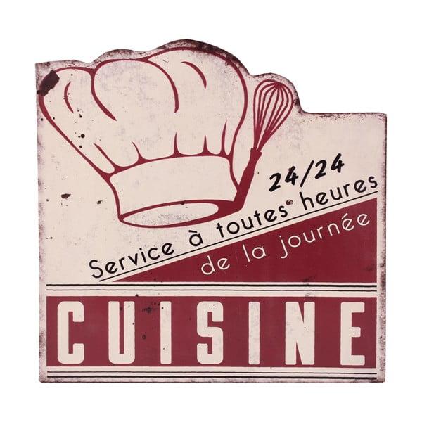 Nástenná ceduľa Antic Line Cuisine Service