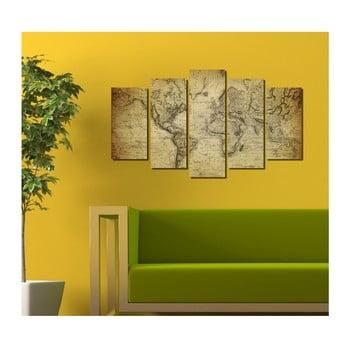 Tablou din mai multe piese 3D Art Darma, 102 x 60 cm