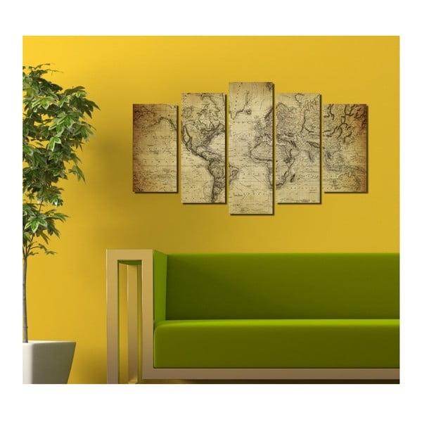 Obraz wieloczęściowy 3D Art Darma, 102x60 cm
