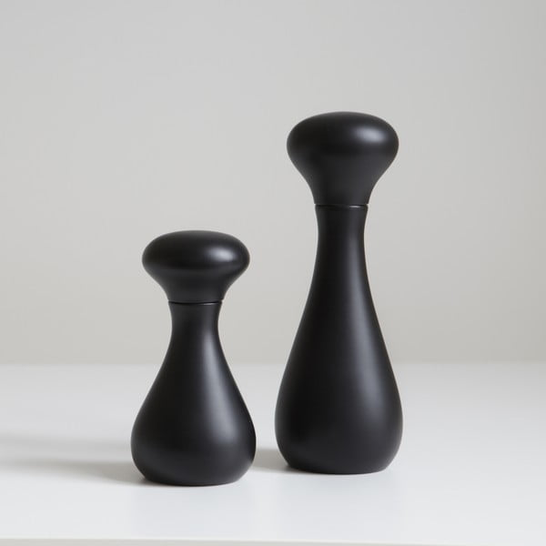 Mlýnek na pepř Flo 16 cm, černý