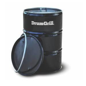 Nerezový gril v provedení barelu DrumGrills Big,mřížka Ø46cm