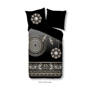Povlečení na jednolůžko z mikroperkálu Muller Textiels Pure Asiya, 140x200cm