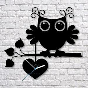 Nástěnné hodiny Owl Clock