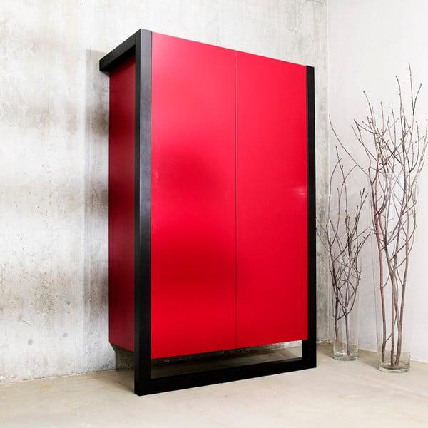 Skříň Cosmic, červená