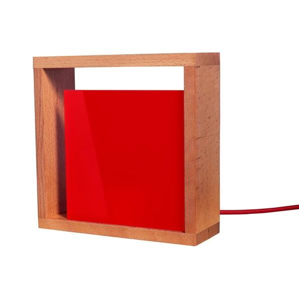 Stolní lampa Vitamin, červená