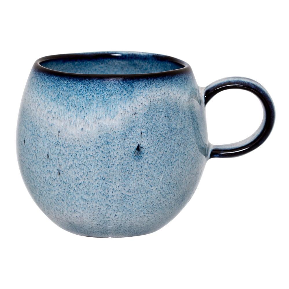 Modrý kameninový hrnek Bloomingville Sandrine, 240 ml