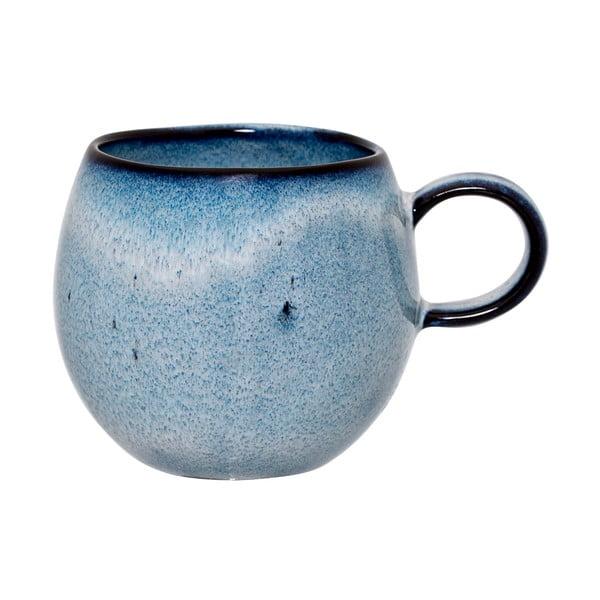 Modrý kameninový hrnek Bloomingville Sandrine, 240ml