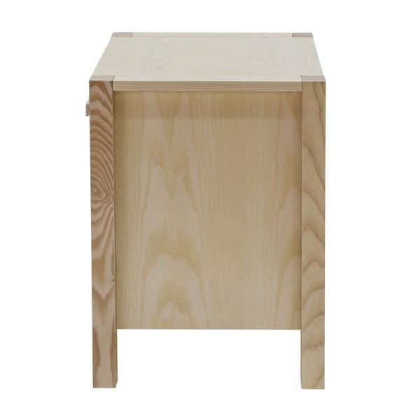Světlý noční stolek Woodman Woody