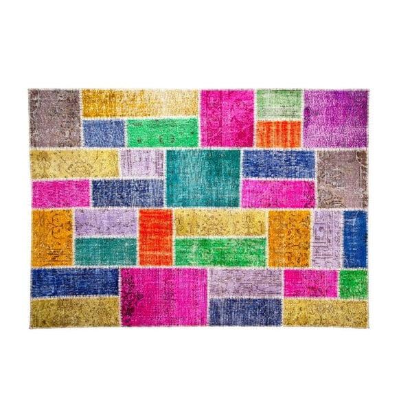 Vlněný koberec Allmode Bulmaca, 180x120 cm
