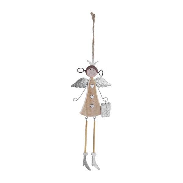 Závesný dekoratívny anjel Ego dekor Lili, výška 25 cm