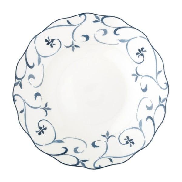 Głęboki talerz z porcelany kostnej Brandani Rotterdam, ⌀ 22 cm