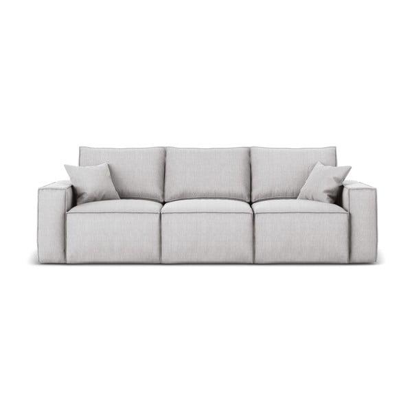 Miami világosszürke háromszemélyes kanapé - Cosmopolitan Design