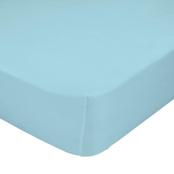 Prostěradlo Little W, 70x140 cm, modré