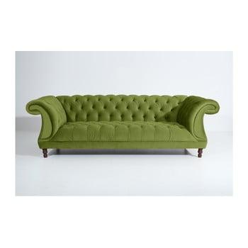 Canapea cu 3 locuri Max Winzer Ivette, verde oliv de la Max Winzer