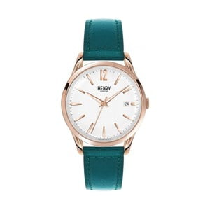 Unisex hodinky s modrým řemínkem Henry London