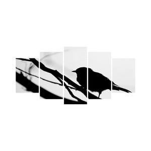 Vícedílný obraz Black&White no. 43, 100x50 cm