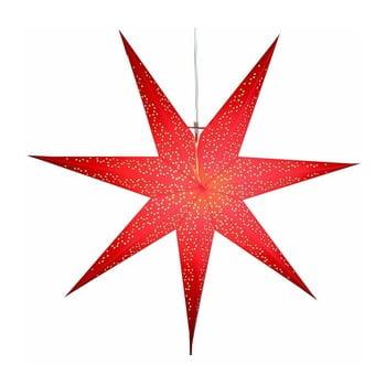 Decorațiune luminoasă Best Season Dot, Ø 70 cm, roșu imagine