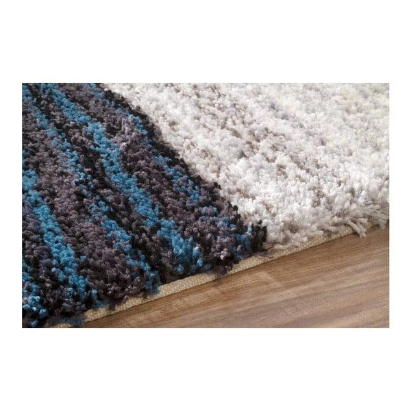 Ručně tuftovaný koberec nuLOOM Stripes Blumulti, 122x183cm