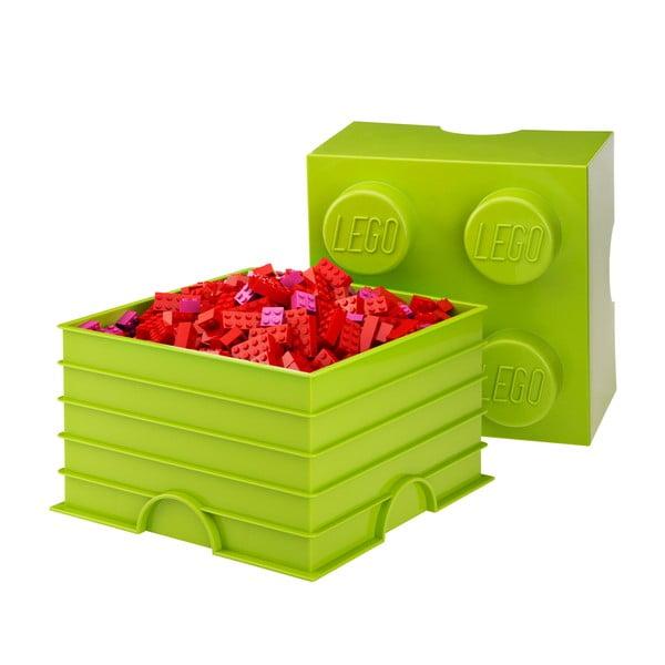 Cutie depozitare LEGO®, verde