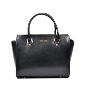 Černá kožená kabelka do ruky Sofia Cardoni Londoner 9ec61e1e28a