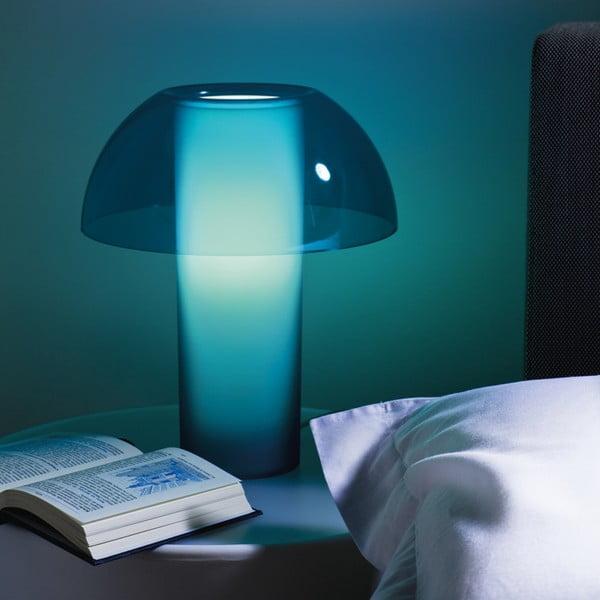 Stolní lampa Colette L003TA, transparentní žlutá