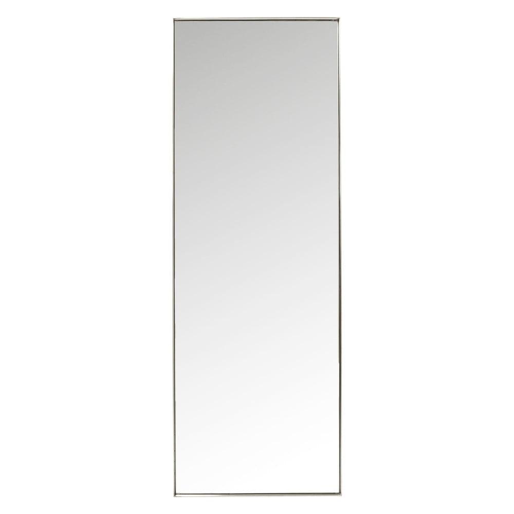 Zrcadlo s rámem ve stříbrné barvě Kare Design Rectangular, 200x70cm