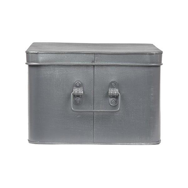 Kovový úložný box LABEL51 Media, šířka 35cm