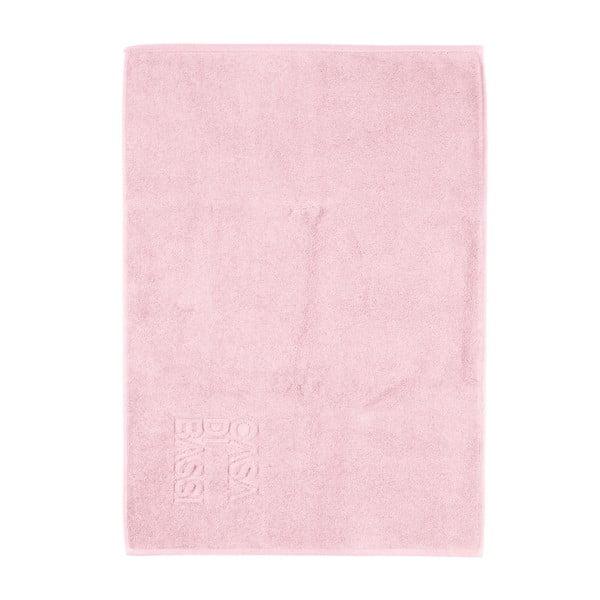 Růžová bavlněná koupelnová předložka Casa Di Bassi Basic, 50x70cm