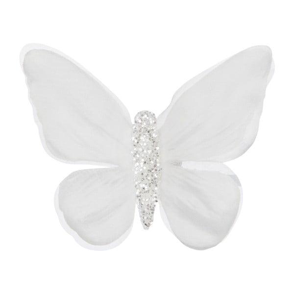 Sada 16 motýlků na klipsně Butterflies