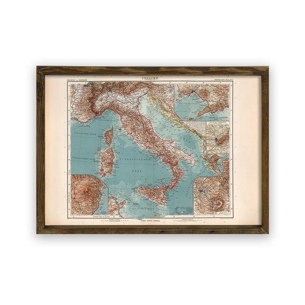 Italy fakeretes fali kép, 70 x 50 cm