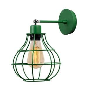 Zelené nástěnné svítidlo Dropy Wall Lamp