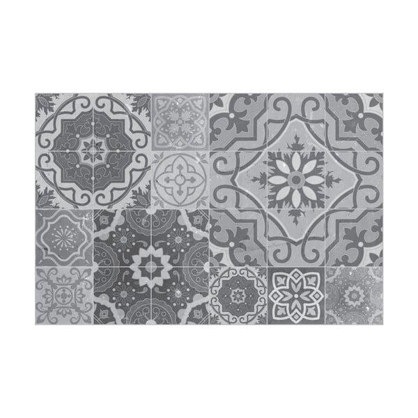 Autocolant de pardoseală, impermeabil Ambiance Grey Stones, 90 x 60 cm