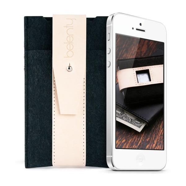 Pouzdro na iPhone 5 Cream