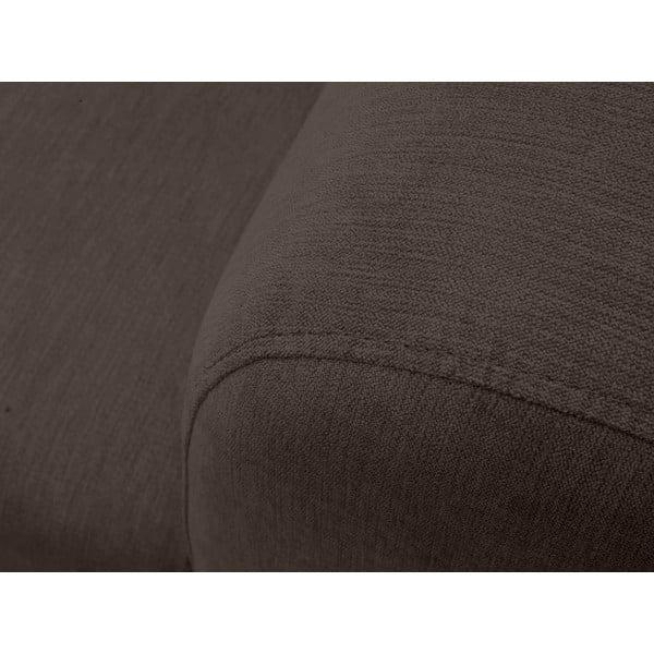 Hnědá dvojmístná pohovka Windsor & Co Sofas Sigma