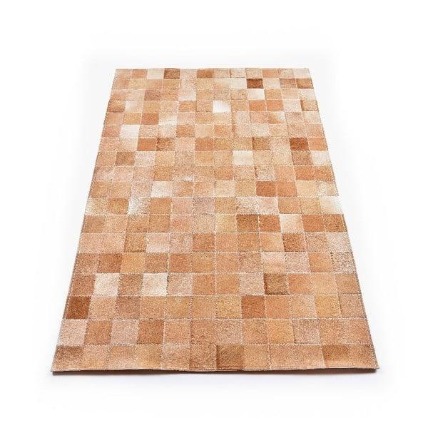 Koberec z kůže Sand, 180x120 cm