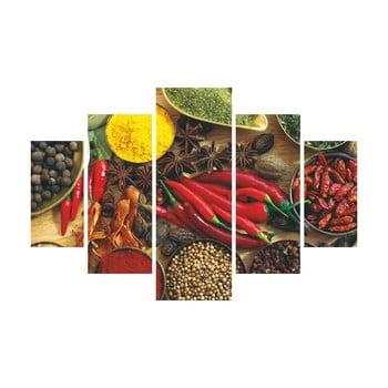 Tablou din 5 piese Pepper