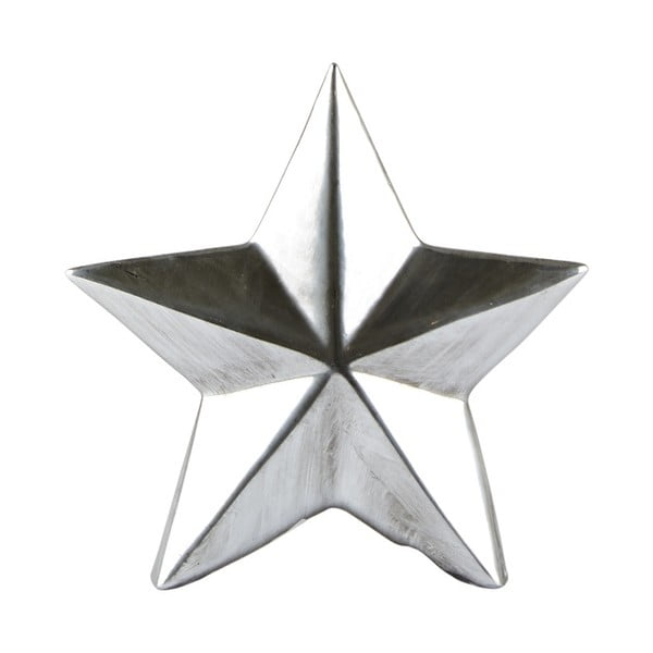 Decorațiune KJ Collection Star Silver, 12 cm