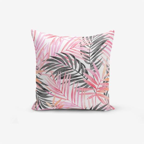 Față de pernă Minimalist Palm, 45 x 45 cm