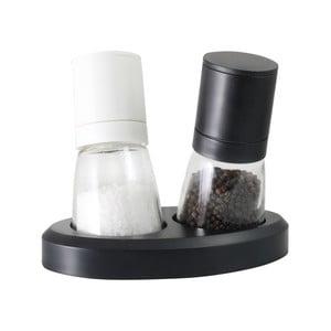 Sada mlýnků na pepř a sůl Vialli Design Black&White