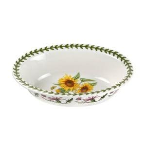 Porcelánový hlubší talíř Portmeirion Akasha Oval Pie Dish, 350 ml