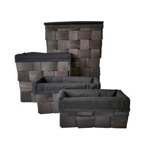 Set čtyř košíků, různé velikosti