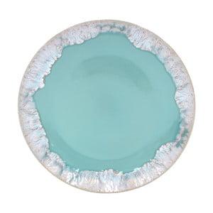 Tyrkysový talíř z kameniny Casafina Taormina,⌀27cm