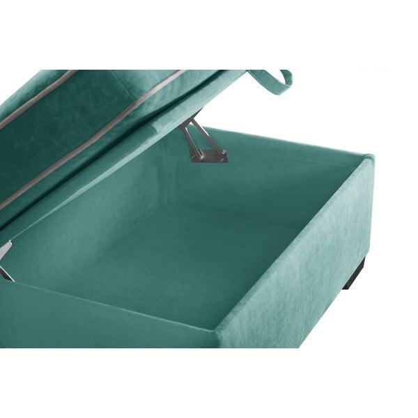 Trojdílná sedací souprava Jalouse Maison Serena, mentolová